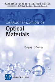 Characterization of Optical Materials Cover