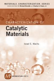 Characterization of Catalytic Materials Cover
