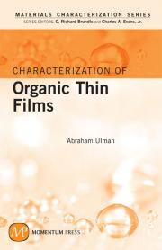 Characterization of Organic Thin Films cover