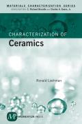 Characterization of Ceramics Cover